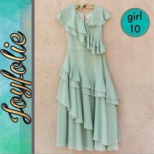 Joyfolie long chiffon dress